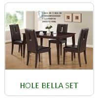 HOLE BELLA SET